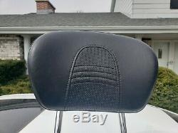 Genuine 09-19 Harley Davidson Touring Sissy Bar Passenger Backrest Pad OEM
