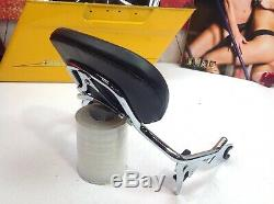 Genuine 09-19 Harley Touring Quick Detach Short Sissy Bar Passenger Backrest OEM