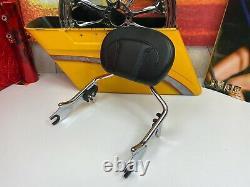 Genuine 09-20 CVO Harley Touring Detachable Sissy Bar Passenger Backrest