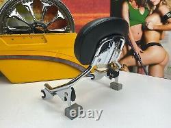 Genuine 09-20 CVO Harley Touring Short Sissy Bar Passenger Backrest Pad OEM