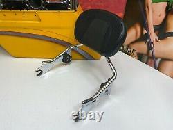 Genuine 09-21 CVO Harley Touring Short Sissy Bar Passenger Backrest Pad