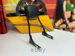 Genuine 12-17 Harley Softail Slim Blackline Sissy Bar Passenger Backrest OEM