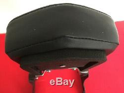Genuine 2000-2017 Harley Softail Wrinkle Black Detachable Backrest Sissy Bar