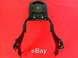 Genuine 2004-2020 Harley Sportster Detachable Black Backrest Sissy Bar Iron 883