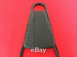 Genuine 2006-2017 Harley Dyna Fxdb Black One-piece Detachable Backrest Sissy Bar