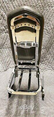 Genuine 91-05 Harley Dyna Backrest Sissy Bar Quick Detachable Detach Tall Rack
