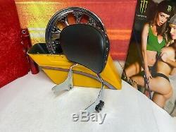 Genuine 97-08 Harley CVO Touring Sissy Bar Backrest OEM