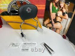 Genuine 97-08 Harley Touring 95th Anni. Sissy Bar Backrest Pad Kit