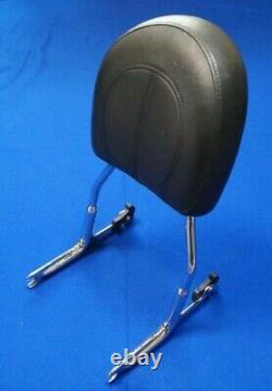 Genuine Harley CVO FLSTN Softail Deluxe Detachable Passenger Backrest Sissy Bar