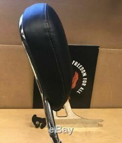 Genuine Harley Davidson OEM Wide Glide Fat Bob Sissybar backrest bar 2010-17