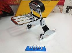 Genuine Harley Detachable Sissy Bar Sportster Passenger Backrest Rack MSRP $400