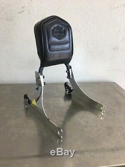 Genuine Harley Dyna detachable Sissy bar Backrest 2002-2005 side plates K605