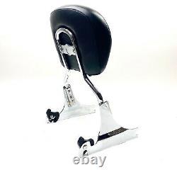 Genuine Harley OEM 00-17 Softail Detachable Chrome Passenger Sissy Bar Backrest
