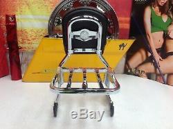 Genuine Harley Softail Heritage Deluxe Detachable Backrest Sissy Bar Rack