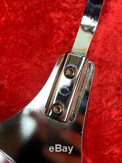 Genuine Harley Softail OEM Eagle Medallion Sissy Bar Passenger Backrest