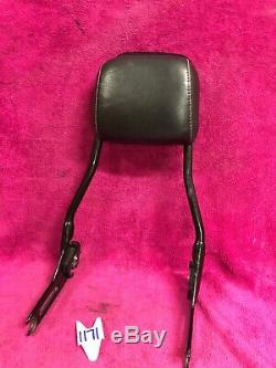 Genuine Harley Softail Slim Blackline Sissy Bar Backrest 2011-17 FXS Detachable
