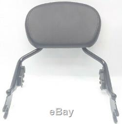 Genuine Harley Touring Short Sissy Bar with Backrest Quick Release Detach 2009-20