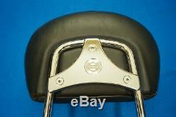 Genuine Harley Touring Standard Sissy Bar Backrest Quick Release Detach 2009-20