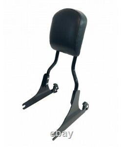 HARLEY DAVIDSON black Detachable tall Sissy Bar Backrest Softail 54258-10A 00