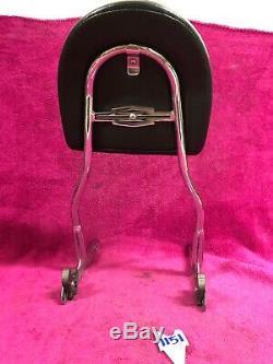 HARLEY SOFTAIL DELUXE FLSTN SISSYBAR PASSENGER BACKREST Pad Seat Detachable