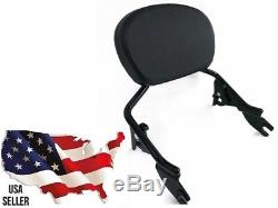 HARLEY quick detach release sissybar small smooth pad 2009-2018 touring backrest