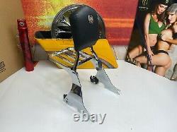 Harley 04-20 Detachable 105th Sportster Sissy Bar Passenger Backrest OEM