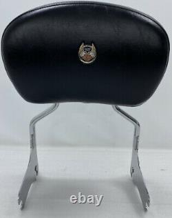 Harley 97-08 105th Anniversary Touring Detachable Passenger Backrest Sissy Bar