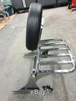 Harley Davidson Breakout detachable Backrest Sissy Bar and Rack