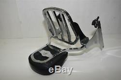 Harley-Davidson Detachable Sissy Bar Backrest Luggage Rack Softail 53282-06