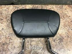 Harley-Davidson Detachable Sissy Bar with Backrest Pad, Used, 09-Later Touring