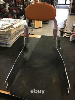Harley Davidson Detachable Sissybar And FXDWG2 Tan Backrest Pad #53870-01A