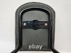Harley Davidson Softail Detachable Passenger Backrest Sissy Bar Black