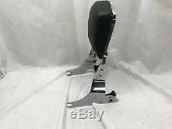 Harley Davidson Softail Detachable Sissy Bar & Smooth Pad backrest Nice Cond