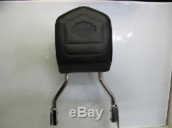 Harley Davidson Sportster OEM Detachable Sissy Bar Back Rest 53913-04 04-Later