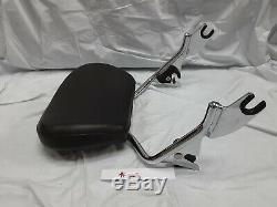 Harley Davidson Touring Short Sissy Bar Passenger Backrest Pad 2009-2020