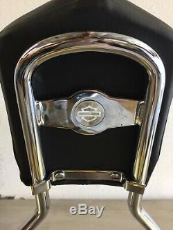 Harley Detachable Sideplates, Sissybar, Backrest 2006-later Dyna K153