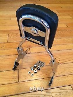 Harley Hd Sportster Detachable Backrest Sissy Bar Xl883 Sissybar Back Rest 1200