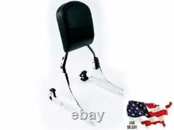 Harley Heritage Softail Classic Flstc Passenger Sissy Bar Quick Release Backrest