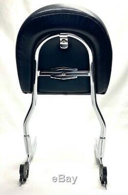 Harley OEM Softail Deluxe 00-17 Quick Release Passenger Backrest & Sissy Bar