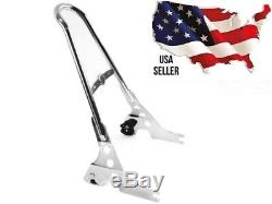 Harley One Piece Detachable Sissybar Backrest Upright Chrome 52300040a Sportster