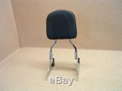Harley Sissy Bar Backrest Detachable Softail (#1742) NEUWERTIG