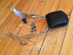 Harley Sportster Detachable Backrest Sissy Bar Xl883 883 Sissybar Back Rest 1200