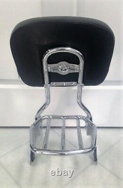 Harley Sportster Sissybar Backrest & Rack Detachable Quick Release 2004-2021