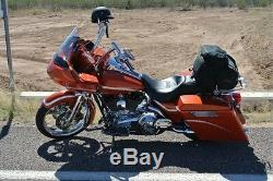 Harley Touring Detachable Backrest Sissy bar 2009 and UP