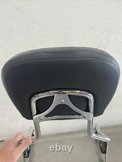 Harley Touring Detachable Sissy Bar Backrest & Pad 52627-09A 51633-06A J128