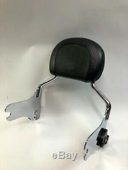 Harley cvo flhr fltr flhx flht detachable sissy bar passenger backrest