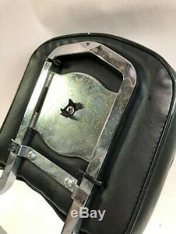 Harley detachable pre 2000 Softail passenger backrest sissy bar pad