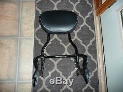 Indian OEM black passenger sissy bar backrest pad Chief Classic Vintage Dark H