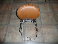 Indian OEM passenger sissy bar backrest pad rack Chief Classic Vintage Dark Hors