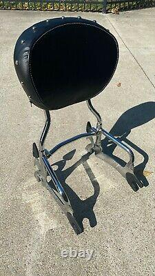 Indian Passenger Sissybar Backrest & Studded Pad ref 2880833-156 Chieftain Chief